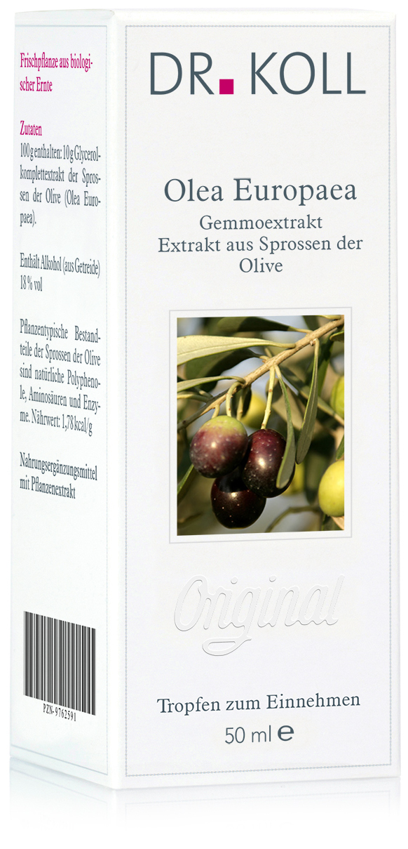 Dr. Koll Gemmoextrakt: Olea europaea - Olive