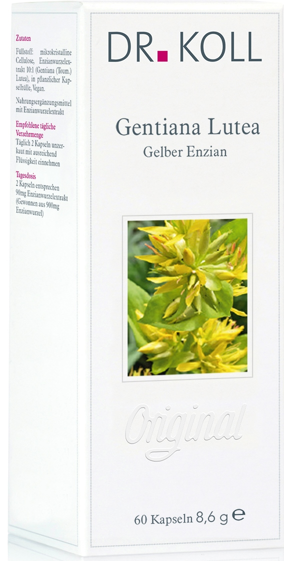 Dr. Koll Pflanzenextrakt: Gelber Enzian – Gentiana lutea