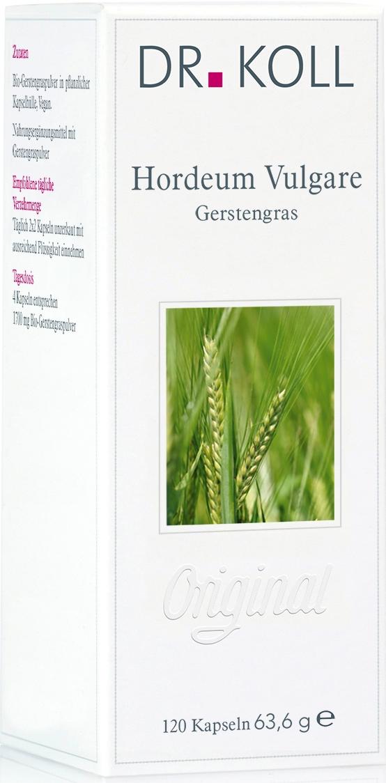 Dr. Koll Pflanzenextrakt: Gerstengras – Hordeum vulgare