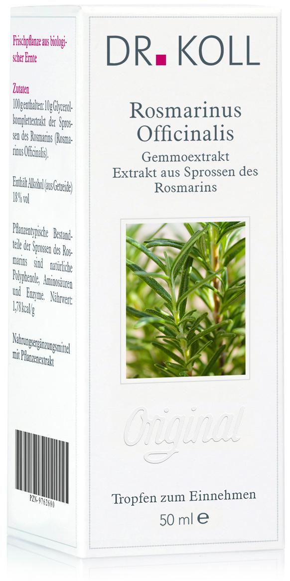 Dr. Koll Gemmoextrakt: Rosmarinus officinalis - Rosmarin