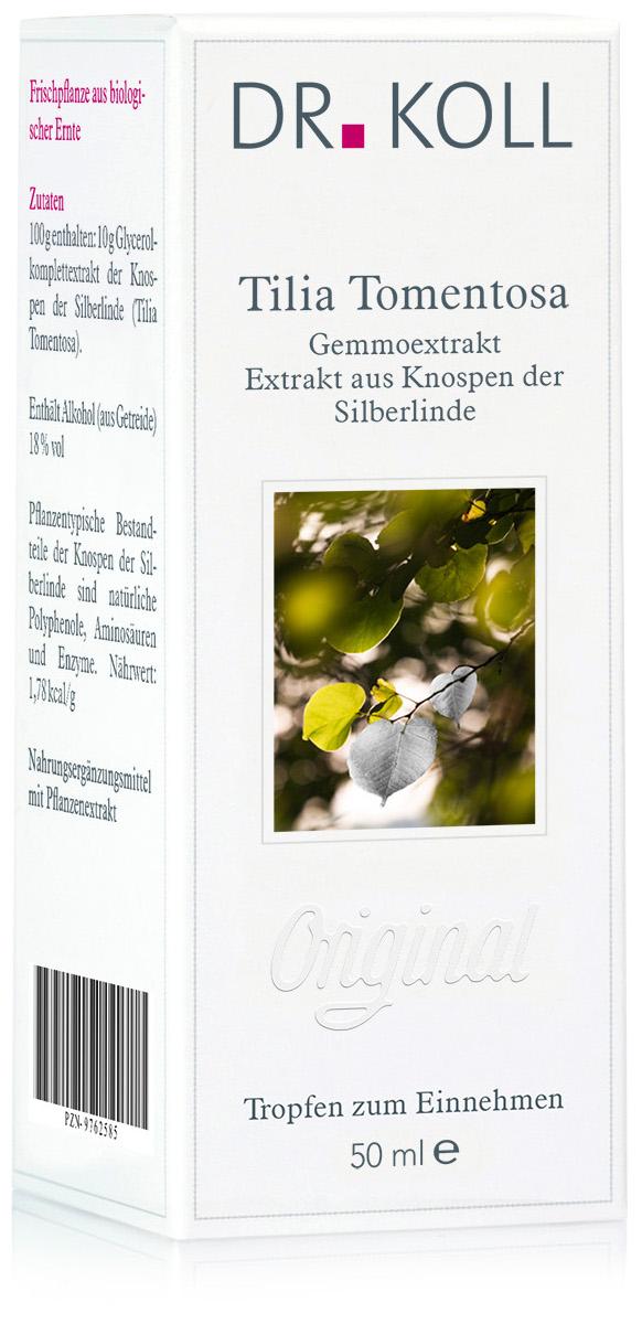 Gemmoextrakt: Tilia tomentosa - Silberlinde
