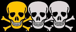 gering giftig bis giftig