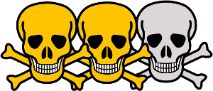 giftig bis sehr giftig