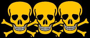 sehr giftig bis tötlich giftig